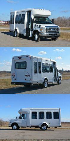 2012 Ford E-350 9 Passenger Shuttle Bus-Liquidation Sale Shuttle Bus For Sale, Buses For Sale, Automatic Transmission, Entry Doors, Recreational Vehicles, Cruise, Ford, Entrance Doors, Cruises