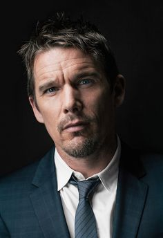 Ethan Hawke by Jeff Vespa 'The Art of Discovery Hollywood Stars Review Their Inspirations' 2014