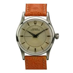 Stainless Steel Oyster Perpetual Wristwatch by Rolex