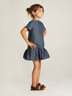 Greta Dress by LIHO brought to you by Gilt Little Girl Fashion, Little Girl Dresses, Toddler Fashion, Kids Fashion, Girls Dresses, Little Fashionista, Style Hipster, Moda Kids, Look Girl