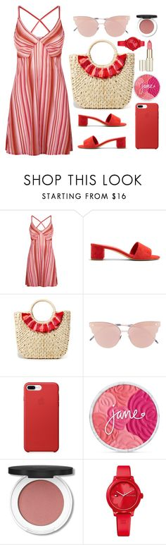 """""""Easy Outfitting"""" by youaresofashion ❤ liked on Polyvore featuring La Perla, Mansur Gavriel, Hat Attack, So.Ya, Tommy Hilfiger and easydresses"""