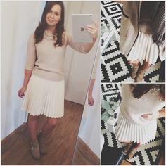 Mein Outfit des Tages | hoffentlich wird es bald ein wenig frühlingshafter ✌️ #outfit #ootd #fashionista #look #fashionblogger #zara #spring #frühlingsgefühle