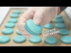 How to make Perfect French Macaron Shells (hand mixer) 완벽한 프렌치 마카롱 꼬끄 만드는 법ㅣSUGAR BEAN - YouTube My Recipes, Dessert Recipes, Desserts, Mini Pastries, Macaroon Cookies, Macaroon Recipes, Great British Bake Off, Cake Decorating Techniques, Something Sweet