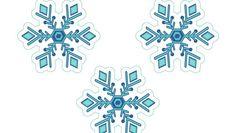 Descarga e imprime gratis todo lo que necesitas para decorar un cumpleaños de Disney Frozen, copos de nieve, guirnalda, coronas, invitaciones de Anna y Elsa