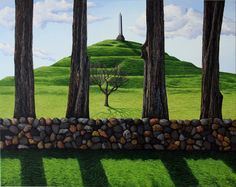 Justin Summerton, Cornwall Park Auckland, 2014 New Zealand Art, Park Art, Various Artists, Auckland, Cornwall, Art Work, Plants, Artwork, Work Of Art