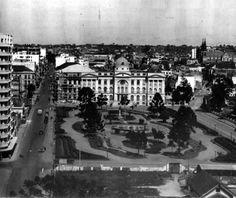 Praça Santos Andrade - 1943