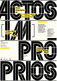 Poster – Actos (Im)próprios #02 - Saídas Criativas em Arquitectura