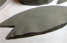 topstitch hat flap