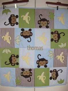 baby monkey quilt patterns | Posted by Susan Lawson at 2:08 PM ... : monkey quilt pattern - Adamdwight.com