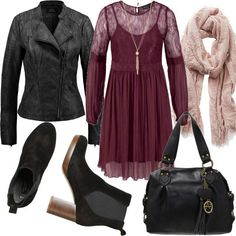 Bordeaux Chica #fashion #mode #look #style #trend #outfit #sexy #luxury #stylaholic