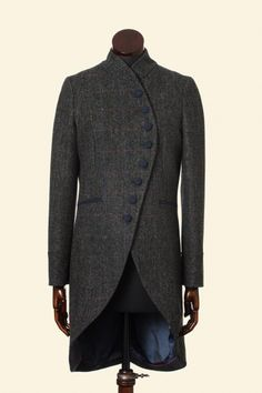 walker slater tweed coat this is just good - tailoring, fabric, drape and finishing just perfect