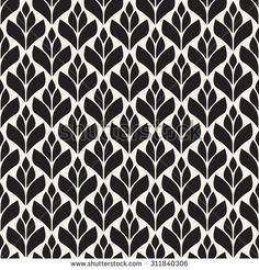 Monochrome ornament with stylized leaves. Motif Design, Pattern Design, Cnc Cutting Design, Stencil Patterns, Ornaments Design, Modern Graphic Design, Pattern Wallpaper, Background Patterns, Textures Patterns