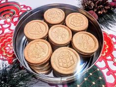 Christmas cinnamon biscuit (for cookie stamp) - Dessert Recipes Smoothie Fruit, Cinnamon Biscuits, Hungarian Recipes, Xmas Food, Sweet Cakes, Winter Food, No Cook Meals, Holiday Recipes, Biscotti