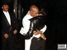 Tupac Shakur with his last girl, Kidada Jones. • kɑıℓıƗʘʘkuƗe •
