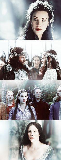 Arwen e Aragorn