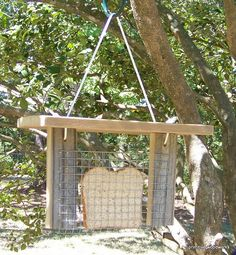 Bird Feeder with Roof Primitive Rustic by PrimitiveWoodworks