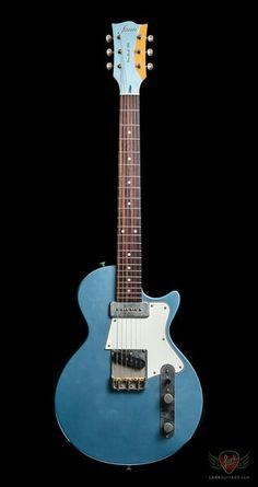 Lake Placid Blue Fano SP-6 in light distress. Very nice Tele-Paul hybrid.
