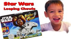 Star Wars Toy Looping Chewie. Let's catch the Stormtroopers. Unboxing an...