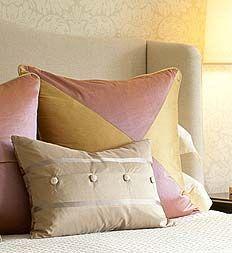 Sarah Richardson - Design Inc. Closet Bedroom, Bedroom Decor, Bed Pillows, Cushions, Sarah Richardson, Pinterest Home, Master Bedrooms, Logs, Fabric Swatches
