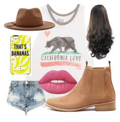 """""""summer time is the best time"""" by josiemae426 on Polyvore featuring Billabong, One Teaspoon, Mollini, Forever 21, Kate Spade and Lime Crime"""