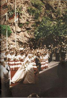Wedding of Princess Grace and Prince Rainier of Monaco