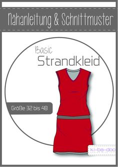 Basic Strandkleid Damen – DIN A 0 Pattern and instructions as brochure Source by Sewing For Beginners, Sewing Basics, Dress Patterns, Sewing Patterns, Sewing Courses, Diy Mode, Tartan Pattern, Sewing Clothes, Athletic Tank Tops