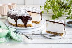 Kokosbollekake Gelatin, Tiramisu, Cheesecake, Sweets, Cookies, Eat, Ethnic Recipes, Desserts, Food