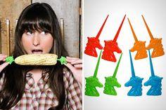 Uni-Corn Corn Holders | 20 Animal Cooking Gadgets