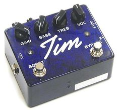 The TIM Overdrive Guitar Pedal!