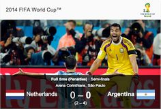 Argentina beat the Netherlands 4-2 on penalties to reach the World Cup final after a dire two hours of defence-dominated football failed to ...