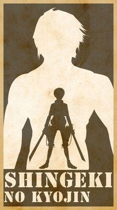 Shingeki No Kyojin Poster by jsclemente