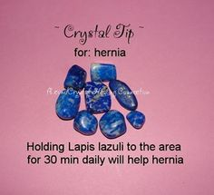 Hernia: Lapis Lazuli