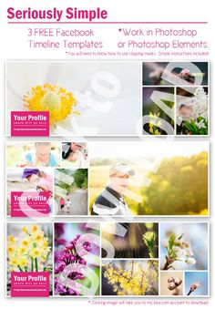 Photography Tips & Guides Photography Marketing, Camera Photography, Photography Branding, Photography Business, Family Photography, Facebook Cover Template, Facebook Timeline Covers, Photoshop Elements, Photoshop Actions