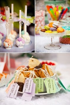 Kitchen Tea Treats #Tea #Kitchen #Party #Treats