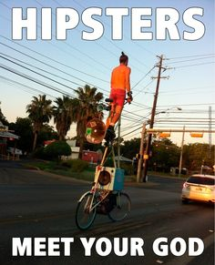 The hipster god