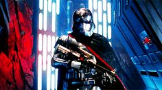 "Going into Star Wars: The Force Awakens, the Stormtrooper everyone was excited about was Captain Phasma. | This Is Everyone's New Favorite ""Star Wars: The Force Awakens"" Character"