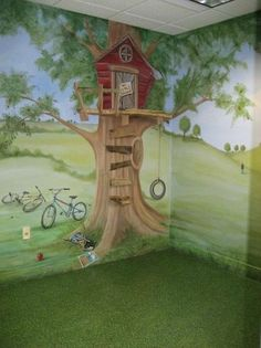 1000 images about child 39 s room decor on pinterest for Treehouse kids room