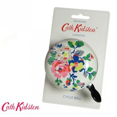 oooh I like Cath Kidston stuff, too --> Cath Kidston Bicycle Bell Kingswood Rose | Cyclechic | Cyclechic