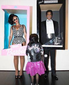 Beyoncé e Jay Z com Blue Ivy (Foto: Reprodução/ Instagram)