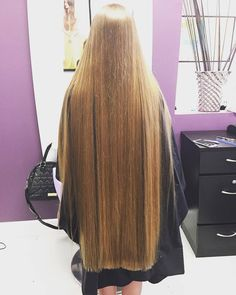 ⭐️ 💁🏼 🔹Trim your hair when needed to keep it one length and healthy, but let it grow very long, be healthy and treat your hair like gold and your hair will become perfect! Long Dark Hair, Very Long Hair, Long Hair Trim, Beautiful Long Hair, Gorgeous Hair, Silky Hair, Hair Lengths, Straight Hairstyles, Hair Inspiration