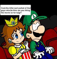 On a date by Luigi-Daisy-Club on DeviantArt