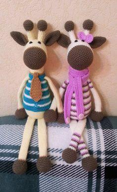 Love this crochet giraffe pattern #crochet #pattern #amigurumi