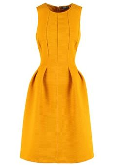 KIOMI Day dress - ochre for with free delivery at Zalando Day Dresses, Dresses For Work, Cocktail, Kobe, Must Haves, High Neck Dress, Outfits, Service Client, Fashion