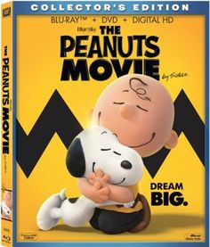Enter to win The Peanuts Movie on Blu-ray + DVD. Giveaway Ends 4/8