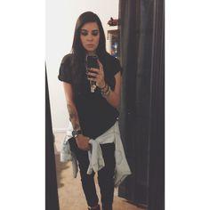 Selfie Colombian all black