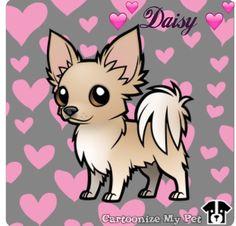 Cartoon Chihuahua Daisy