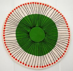 Lime Sun by Ceadogan Rugs and Andrew Ludick based on a Ludick ceramic bowl Ceramic Decor, Ceramic Pottery, Ceramic Art, Slab Pottery, Ceramic Bowls, Pottery Vase, Ceramic Mugs, Pottery Painting Designs, Paint Designs