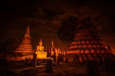 Light and sound Presentation in Wat Mahathat