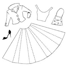 You can stamp up an unlimited wardrobe with this set of five stamps.  The dimensions given are for the skirt, but folding and cutting will make this much smaller.   The bodice is 1 1/2 by 1 1/2 inches also includes the Jacket I3133To get this Dress Set plus some fun accessories images all on one sheet, check out our Clear Unmounted Dress Set CS3226 $11.80