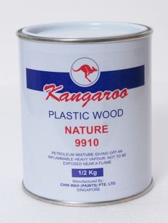 Plastic Wood Filler 9910 : is specially designed for interior and exterior use in the initial stages of wood finishing to fill any irregularities and porosity and for repairing wood.